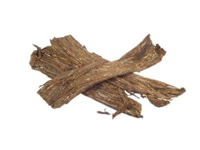 Кора диптерикса - дерева бобов тонка
