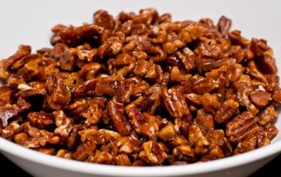 Грецкие орехи в меде с корицей