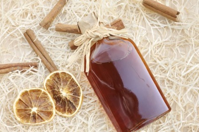 Ликер с медом и корицей