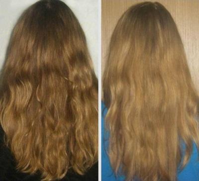 Осветление волос корицей с медом