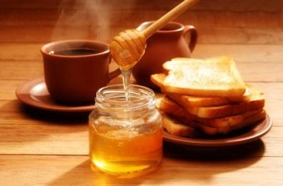 Сухарик с медом и корицей