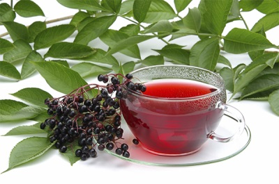 Чай из черной бузины