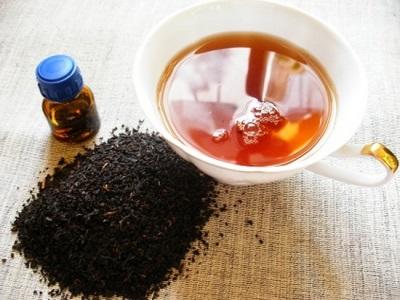 Полезный чай с эфирным маслом черного перца