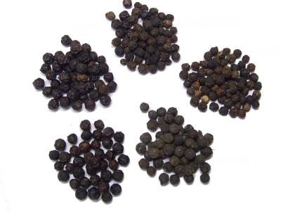 Сорта черного перца горошком