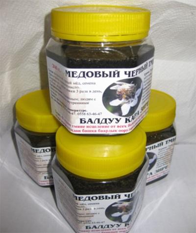 Мед с черным тмином