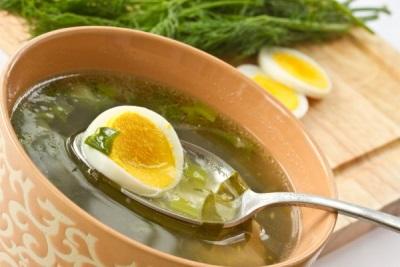 Суп весенний с кервелем