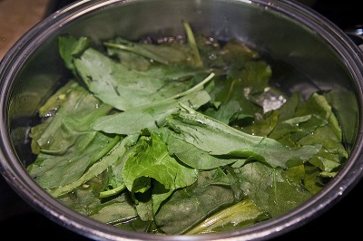Суп из лебеды и зелени