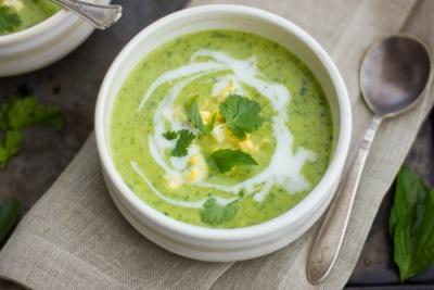 Суп-пюре из лемонграсса
