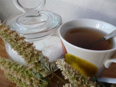 Чай с вареньем из лофантом