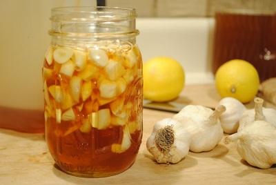 Настойка на чесноке с лимоном