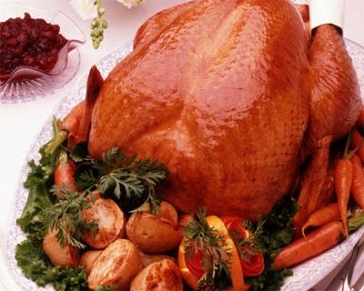 Курица с рокамболем