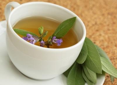 Целебный чай с шалфеем