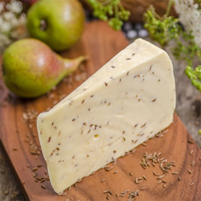 Домашний сыр с тмином