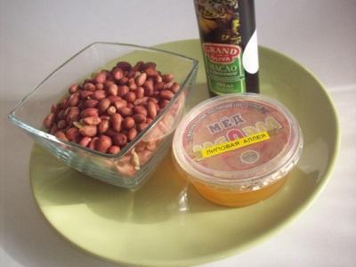 Ингредиенты для арахисовой пасты