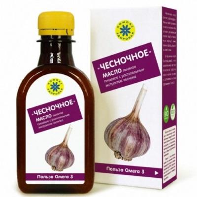 Чесночное масло для лечения сосудов