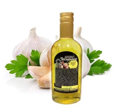 Рецепты чесночного масла