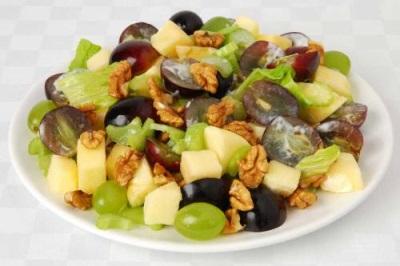 Диетические блюда с грецкими орешками