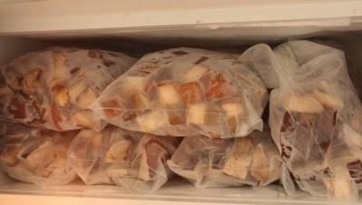 Хранение грибов волнушек