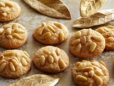 Печенье с кедровыми орехами