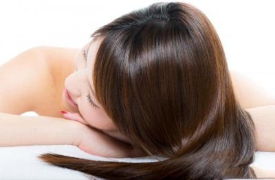 Волосы после применения кокосового масла для волос