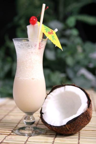 Коктейль из кокосового молока