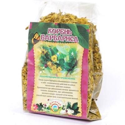 Сухой корень барбариса в упаковке