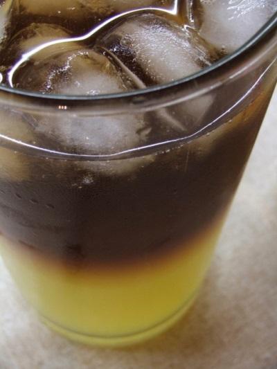 Коктейль мандариновая отвертка
