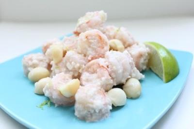 Рафаэлло из крабов с орешками макадамия