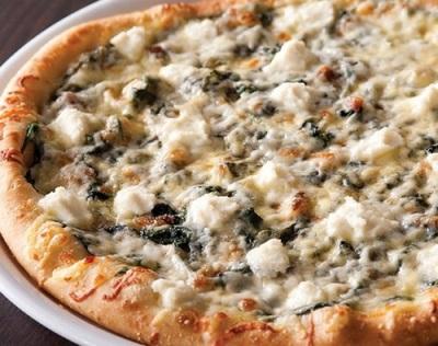 Пицца с грибами мейтаке