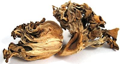 Сушеные грибы мейтаке