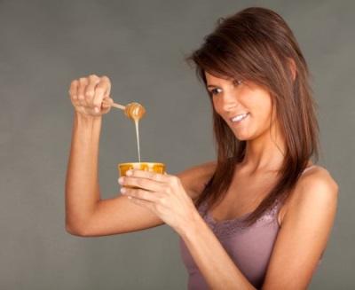 Отвар настурции с медом