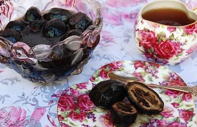 Варенье из черного ореха