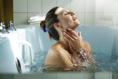 Ванна с отваром полыни