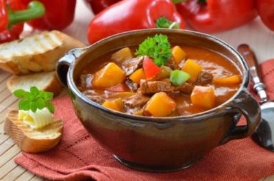 Блюдо с паприкой - Бограч