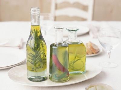 Оливковое масло настоянное на розмарине
