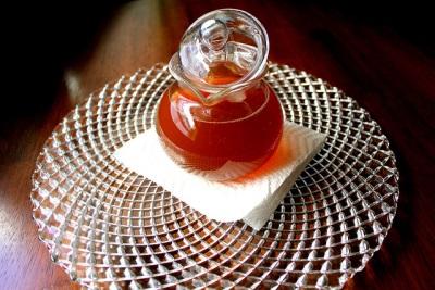 Зеленый чай с шафраном