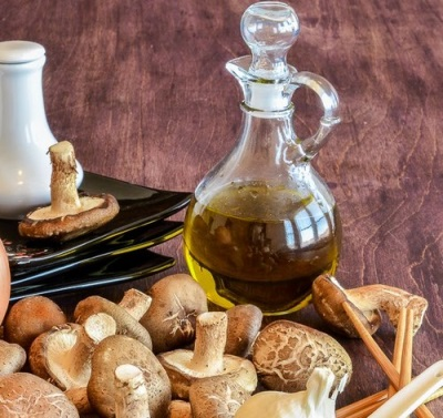Масляная вытяжка грибов шиитаке