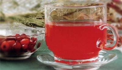 Морс из ягод барбариса