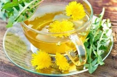 Чай из цветов одуванчика