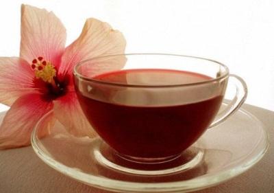 Чай из лепестков гибискуса
