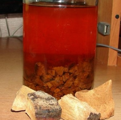 Настойка спиртовая лиственничного трутовика