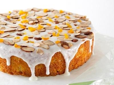 Миндальный пирог с пятью специями