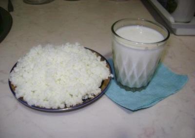 Правила приема молочного гриба