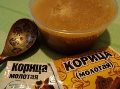 Рецепт обертывания корицы с медом