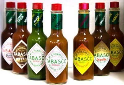 Разновидности перчных соусов табаско