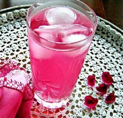 Сок лепестков роз
