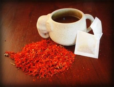 Чай из сафлора