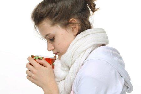 Молоко с медом когда болит горло