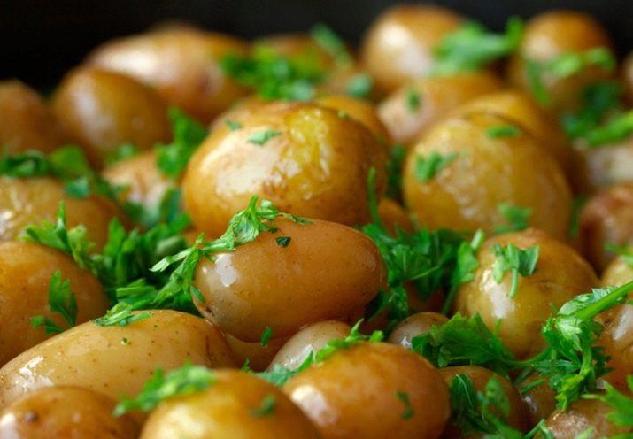 Варёный картофель в мундире калорийность — Сбрось вес