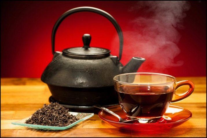 Черный чай при диарее